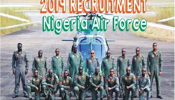 nigeria air force 2019 recruitment