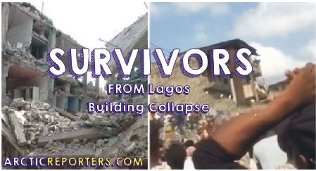 lagos building collapse survivors list