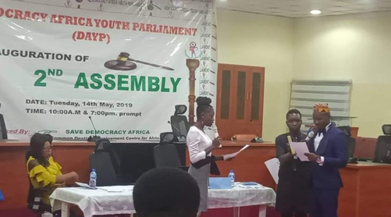 DEMOCRACY AFRICA YOUTH PARLIAMENT MEMBERS  (DAYP)[2ND ASSEMBLY]