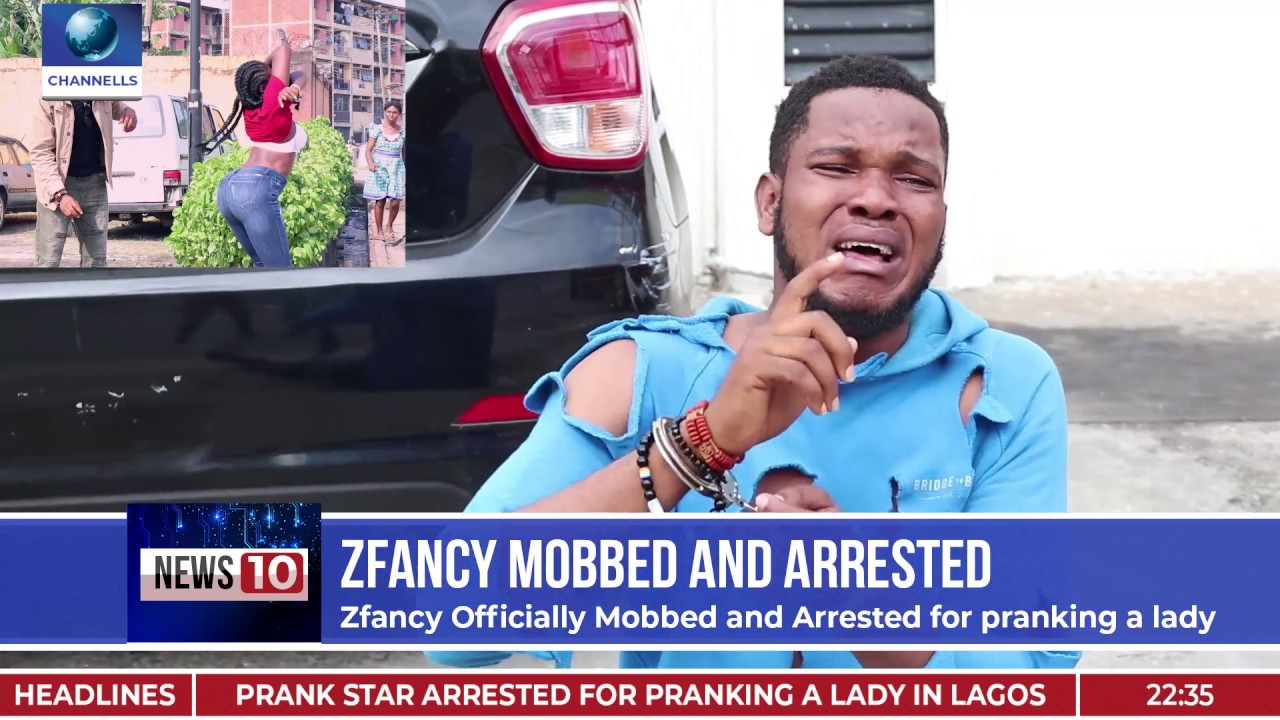 zfancy arrested