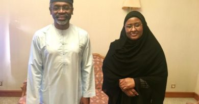 gbajagbiamila and aisha buhari