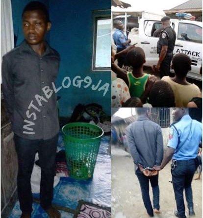 ndu Student defile 8 year old