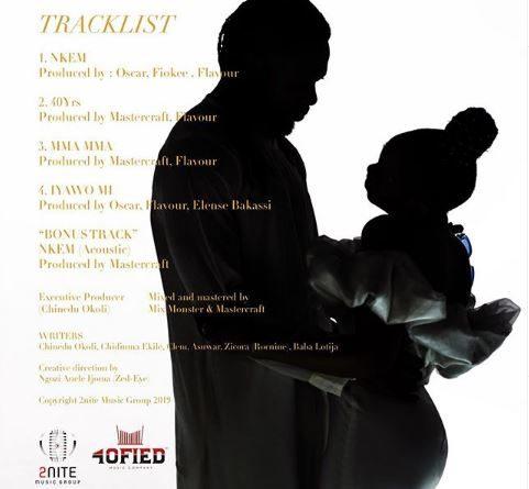 tRACKLIST 40 years Everlasting EP