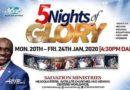 5 nights of glory 2020