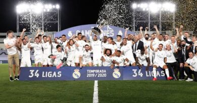 34th time La Liga Champions Real Madrid celebrates in style!!!