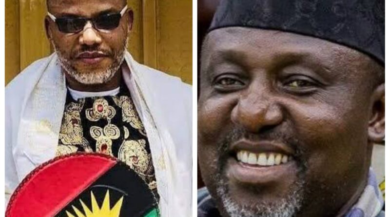 """Find out what Rochas Okorocha said about """"Why Igbo Leaders Don't Criticize Nnamdi Kanu And His Agenda"""""""